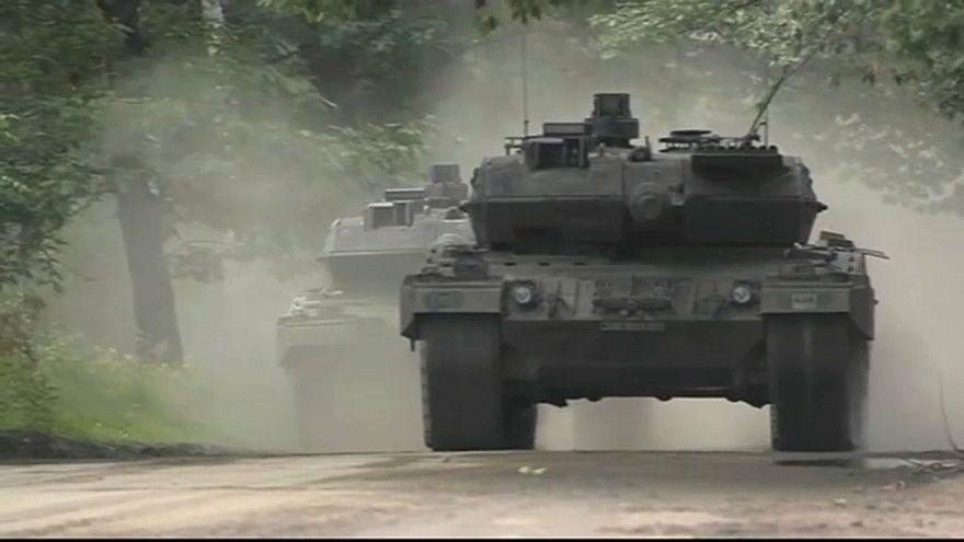 Deutsche Rüstungsausfuhren eingebrochen