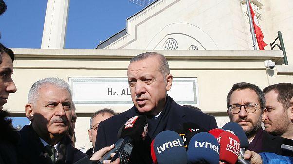 Erdoğan: Esad güçleri Menbiç'te psikolojik operasyon yapmaya çalışıyor