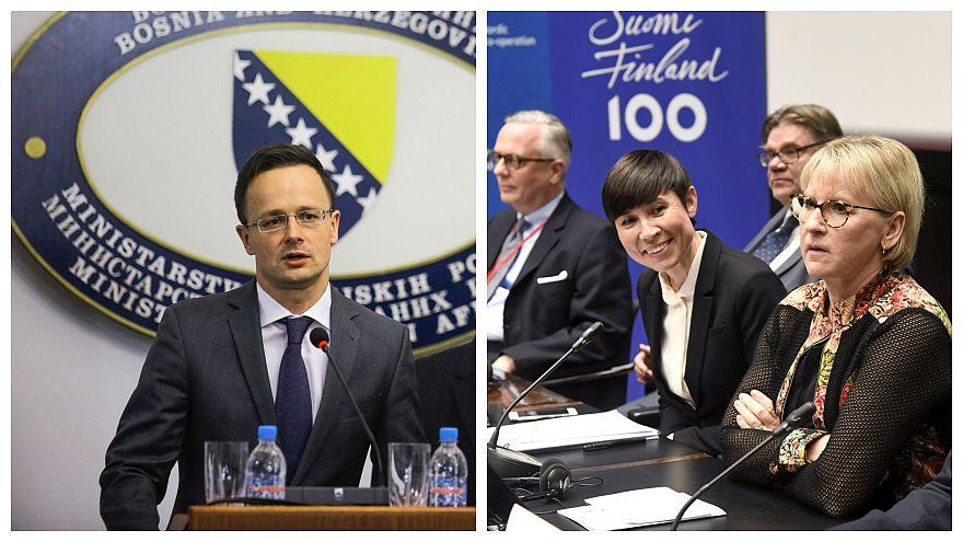 A svéd külügy szerint Magyarország problémás, Szijjártó ezt pökhendinek minősítette