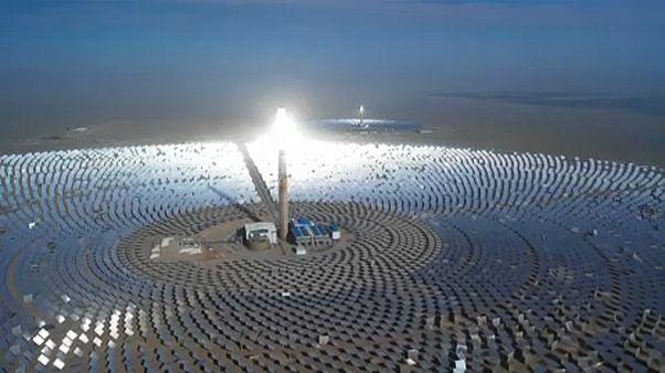 A legnagyobb olvadt só kollektoros erőmű