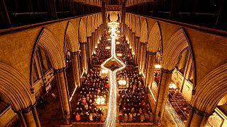 Das Innere der Salisbury-Kathedrale