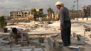 شاهد: مشاريع سورية ضخمة لإعادة تأهيل مدينة حلب