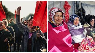 Flormar işçileri 228'inci günde: Soba yasağına karşı battaniye ile eylemdeler