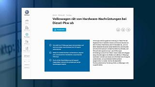 Volkswagen contro il governo tedesco