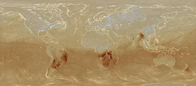 earth.nullschool.net con datos de Copernicus