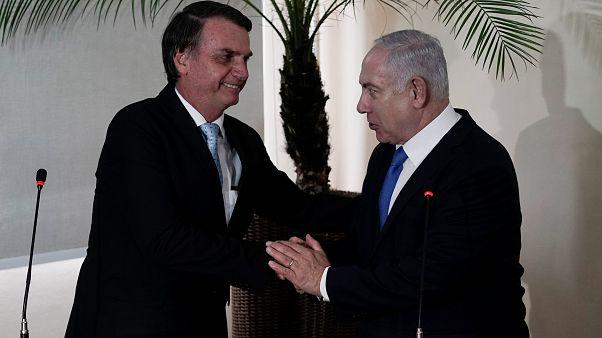 البرازيل: بولسونارو يستقبل نتنياهو ولا حديث عن نقل السفارة للقدس
