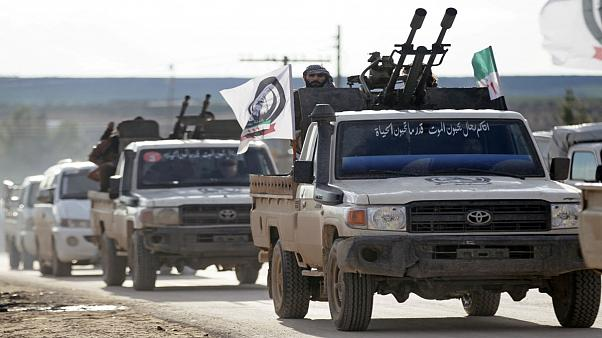 Turkish-backed rebels vow to resist Syrian government troops