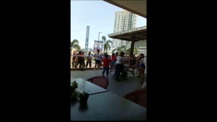 شاهد: زلزال قوي قبالة الفلبين وإلغاء تحذير سابق من تسونامي