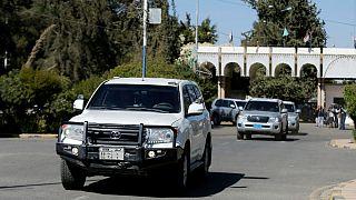 با نظارت سازمان ملل حوثیها تخلیۀ بندر حدیده را آغاز کردند