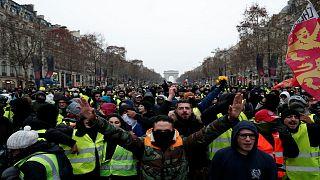 هفتمین هفتۀ اعتراض جلیقه زردها؛ حضور گستردۀ معترضان برخلاف پیشبینی دولت