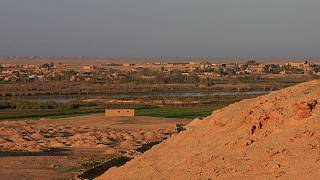 Near the Iraqi-Syrian border in al-Qaim, Iraq