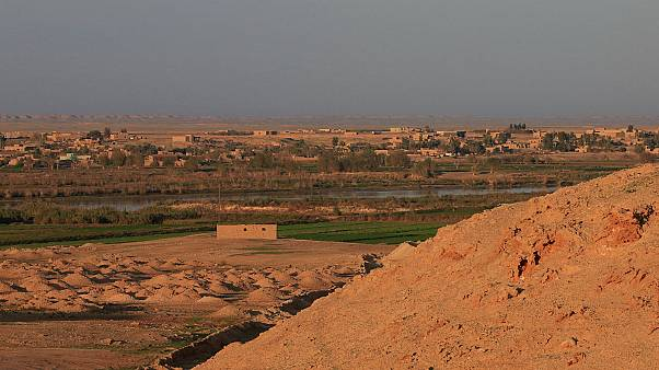 Near the Iraqi-Syrian border in al-Qaim, Iraq