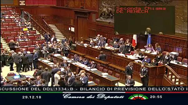 Átment a költségvetés terve az olasz parlamenten