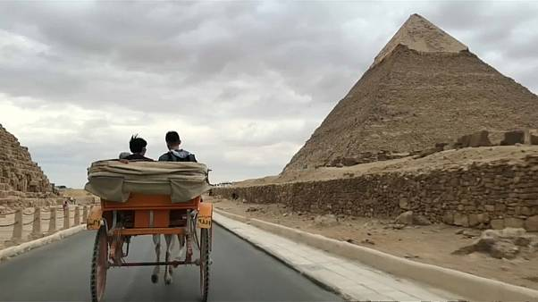 Visitors return to Egypt's pyramids after terror attack