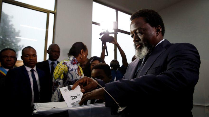Presidente Joseph Kabila já exerceu o dever de voto no respetivo sucessor
