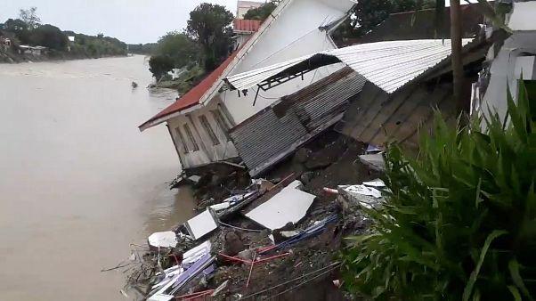 Video | Filipinler'de Usman Tayfunu'nun getirdiği şiddetli yağışlar can aldı