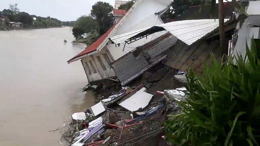 Φιλιππίνες: Φονικό πέρασμα της τροπικής καταιγίδας Ουσμάν