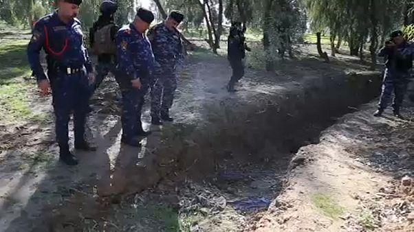 اكتشاف مقبرة جماعية في الحويجة العراقية تضم مدنيين وعسكريين وأطفالاً