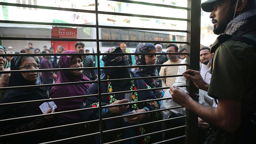 Erőszakos választások Bangladesben