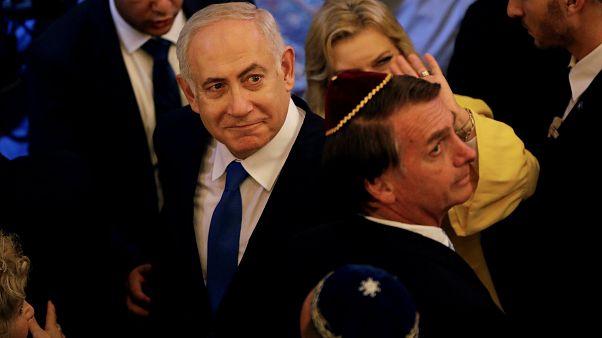 Netanyahu: Brezilya Büyükelçiliği'nin Kudüs'e taşınması an meselesi