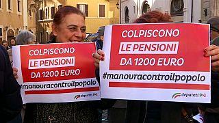 Итальянский бюджет: бунт оппозиции