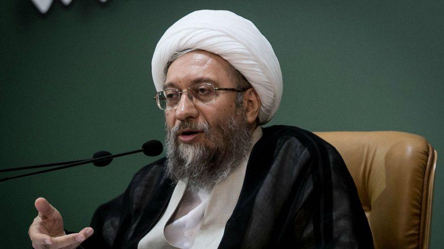 İran Yargı Erki Başkanı Ayetullah Sadık Amoli Laricani