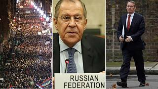 Europe briefing: Russia accuses American of 'spying', Italy's 2019 budget, English Channel security