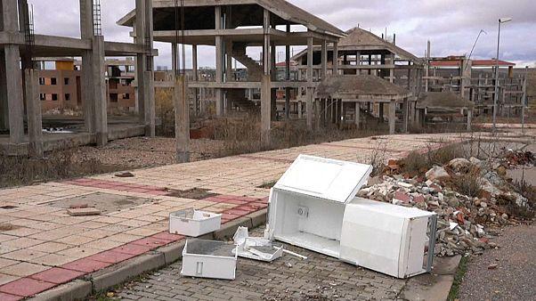 Resucitan algunas ciudades fantasma afectadas por la burbuja inmobilaria en España