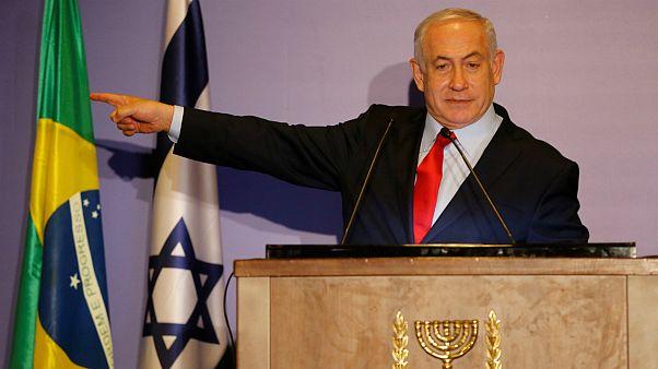 نتانیاهو: بولسونارو دیر یا زود سفارت برزیل را به بیت المقدس منتقل میکند