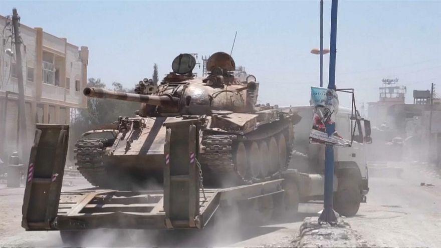 فيديو: السيطرة الكردية على منبج السورية تتقهقر