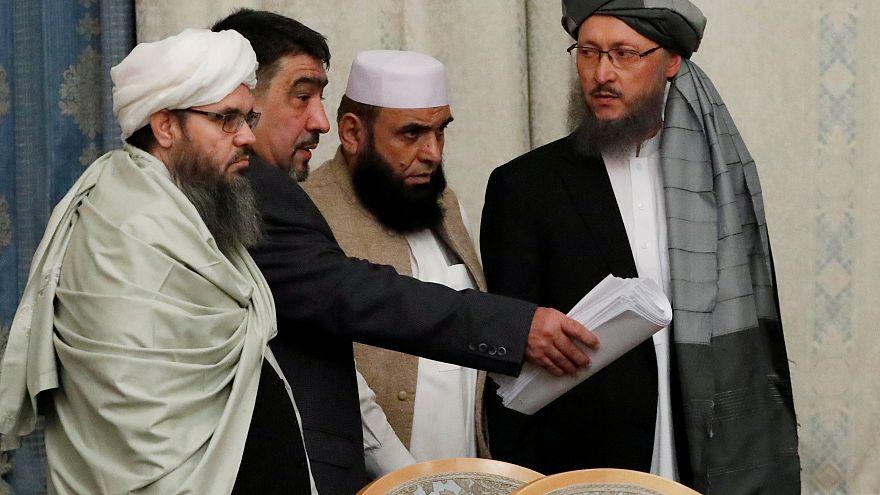 هیات نمایندگی طالبان در مذاکرات صلح مسکو