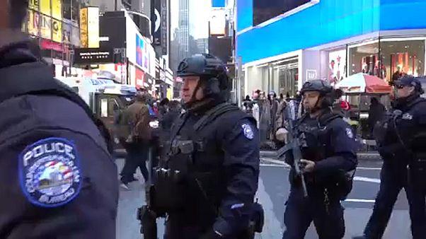 Kétmillió ünneplőt várnak szilveszterkor a Times Square-re