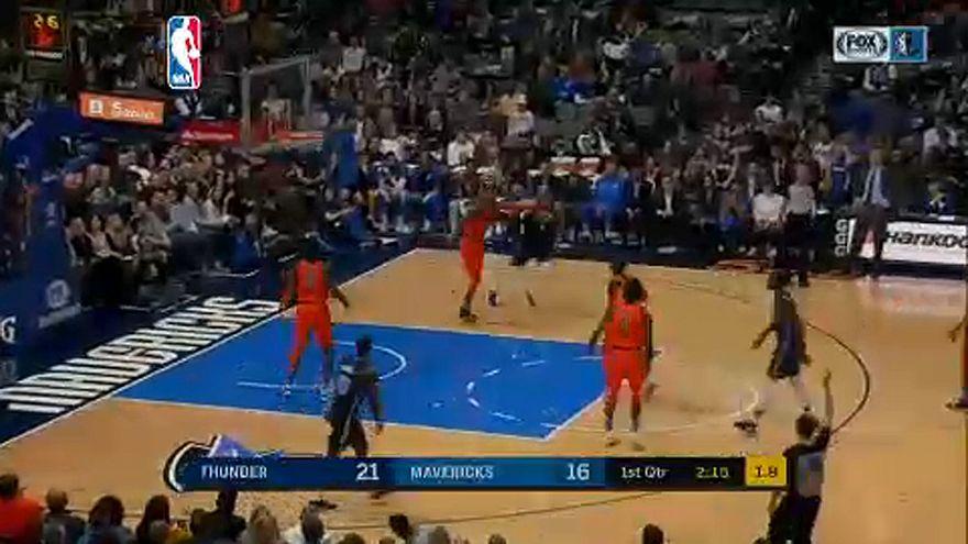 NBA: George 36 pontja sem volt elég Dallasban
