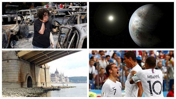 Top 2018: focivébé, görög tűzvész, a rekord hosszú holdfogyatkozás és a szuperföld