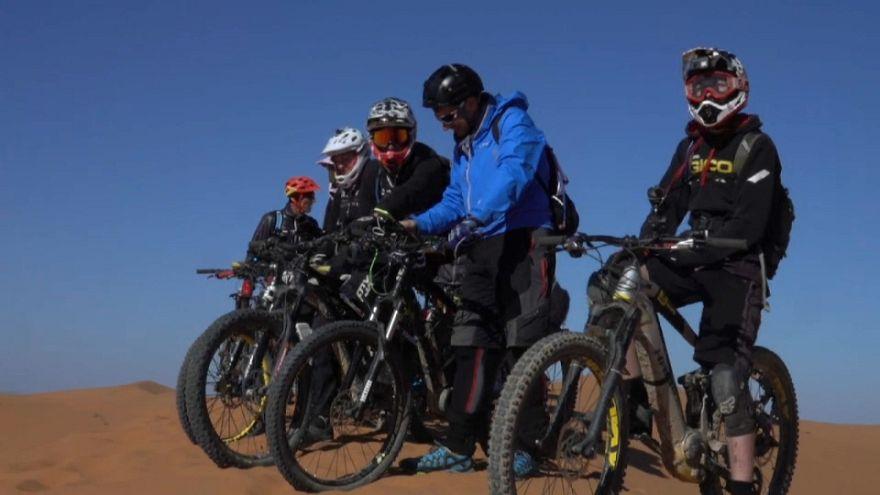VTT : le désert marocain au menu du réveillon