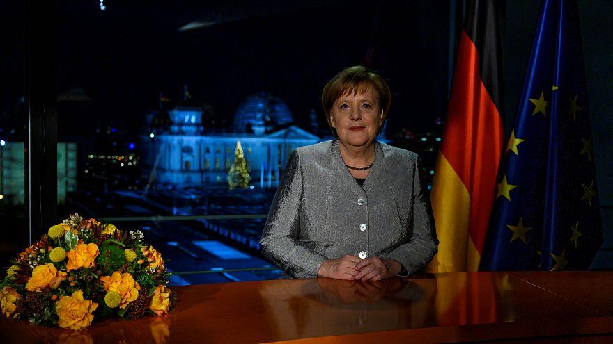 ميركل مخاطبة الألمان عشية 2019: الانفتاح والتسامح والاحترام قيمنا
