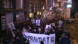 """Banja Luka, migliaia in piazza: """"Verità per David"""""""