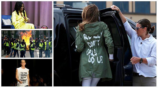 لباسهایی که در سال ۲۰۱۸ جنجالی و سیاسی شدند