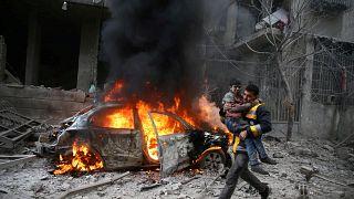 Szíriában 2018-ban csaknem 20 ezer ember vesztette életét