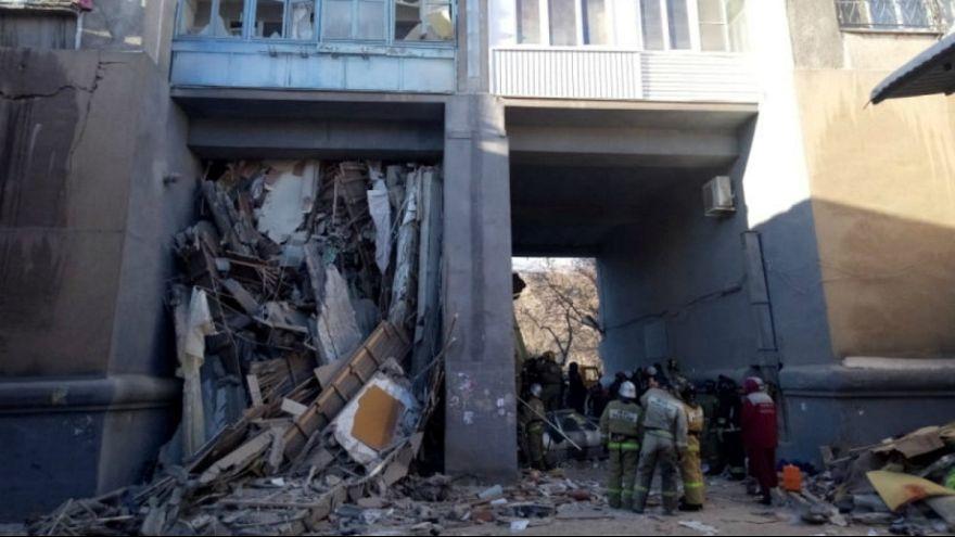 انفجار در یک ساختمان مسکونی روسیه؛ دستکم چهار کشته و دهها مفقود