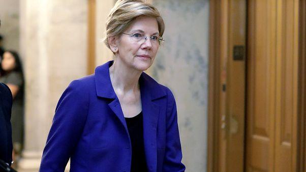 الديمقراطية إليزابيث وارِن تستعد لمنافسة ترامب في 2020