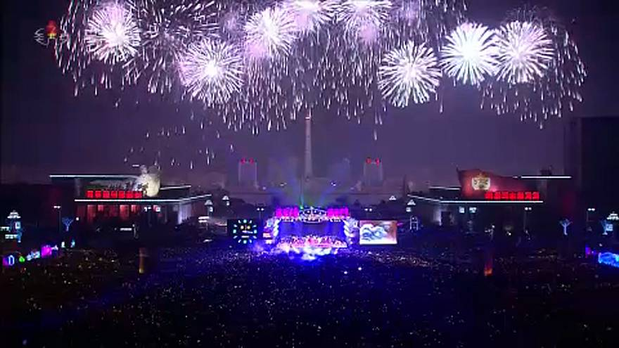 شاهد: كوريا الشمالية تستقبل 2019 بحفل ضخم يشيد بالزعيم كيم جونغ أون