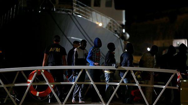 نجات ۱۴۹ مهاجر سرگردان در مدیترانه توسط نیروی دریایی مالت