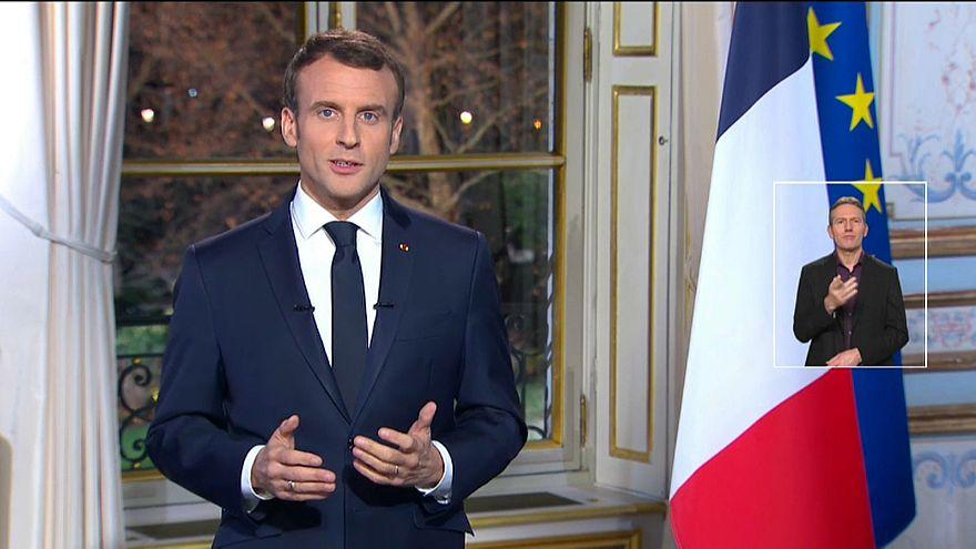 Emmanuel Macron fixe le cap pour 2019