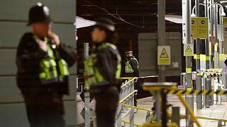 حمله با چاقو در ایستگاه قطار ویکتوریا - منچستر - بریتانیا