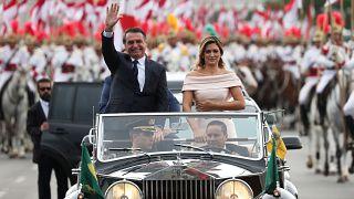 Brezilya'nın yeni Devlet Başkanı Jair Bolsonaro yemin ederek göreve başladı