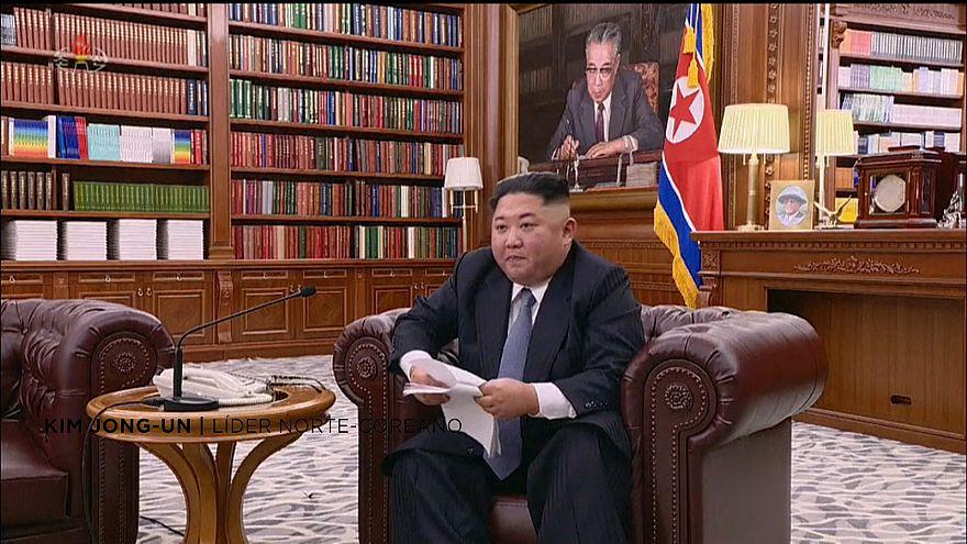 Kim Jong-Un diz que atitude de Pyongyang dependerá dos EUA