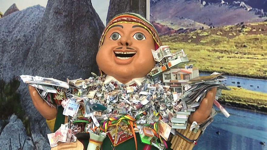 شاهد: الإحتفالات بالسنة الجديدة في البيرو تتم وفق تقاليد الأيمارا