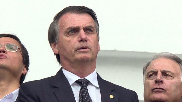 أنصار الرئيس جائير بولسونارو يتوافدون على منتزه الوزارات لحضور مراسم التنصيب