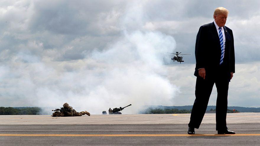 US-Militär entschuldigt sich für abfälligen Silvester-Tweet über das Abwerfen von Bomben